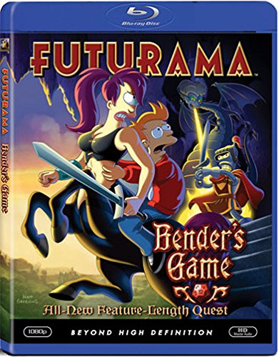 FUTURAMA-BENDERS GAME (BLU-RAY/WS-1.78/SAC/ENG-FR-SP-KOR-MAND-CANT SUB)