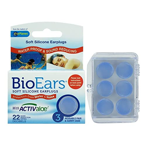 Bio Ears Soft Silicone EarPlugs Protection