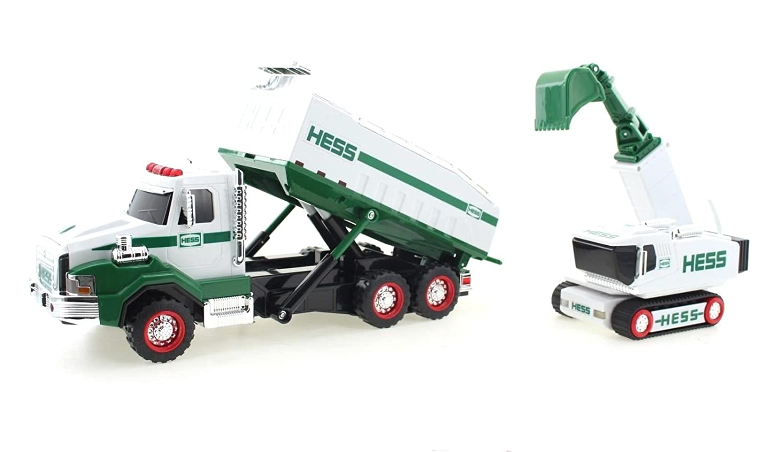 amazon com 2017 hess dump truck and loader toys games