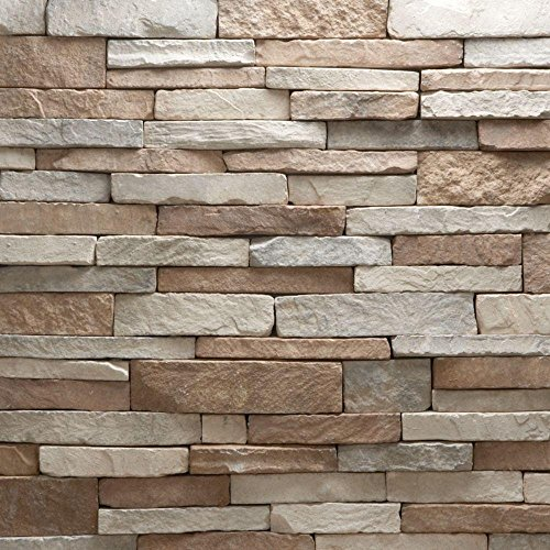 Veneerstone Stacked Stone Villa Flats 10 sq. ft. Handy Pack Manufactured ()