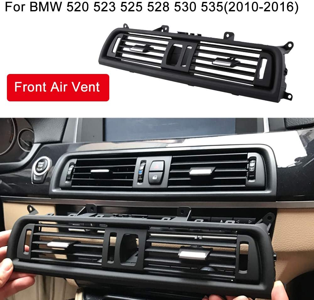 2010-2016 Dashboard Center Air Conditioning Grilles for BMW F10 F18 Reeoutdoor Front AC Vent for BMW 5 Series 520 523 525 528 530 535 550
