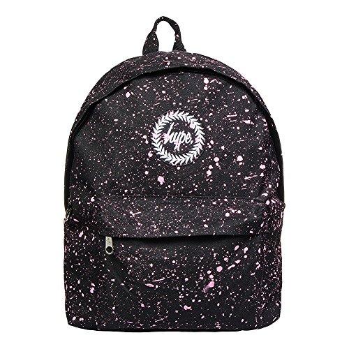 Just Hype Hype bag kit (Splatter) - Bolso al hombro de Poliéster para hombre talla única negro / rosa