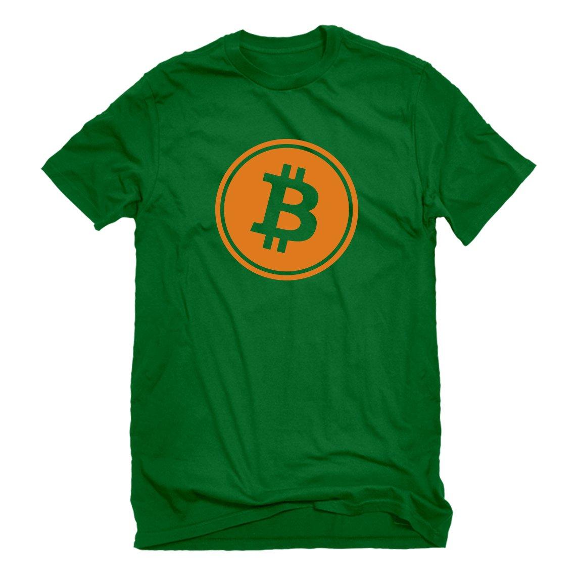 Indica Plateau Bitcoin Mens T-Shirt 3122-M