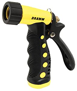 Dramm 12723 ColorStorm Premium Pistol Spray Gun with Insulated Grip, Yellow