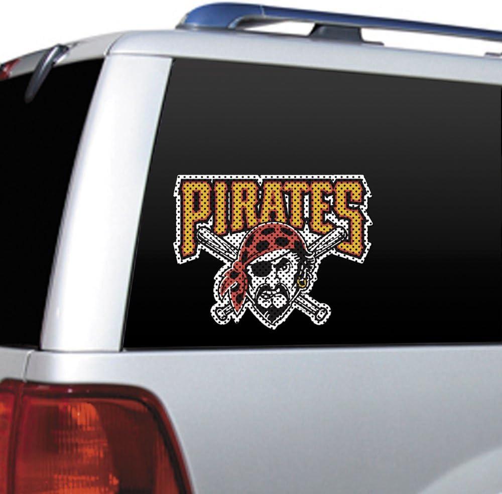 MLB Pittsburgh Pirates Die Cut Window Film