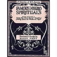 Famous Negro Spirituals: Piano/Vocal/Chords