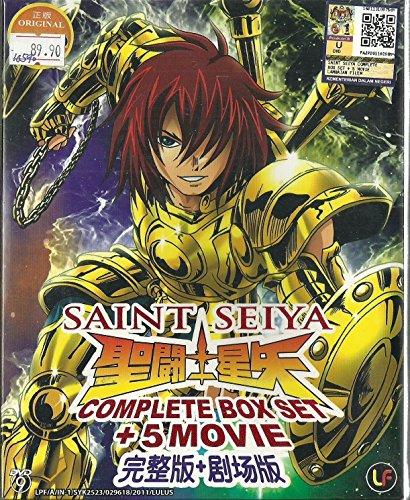 (SAINT SEIYA - COMPLETE TV SERIES DVD BOX SET ( 1-159 EPISODES + MOVIE))