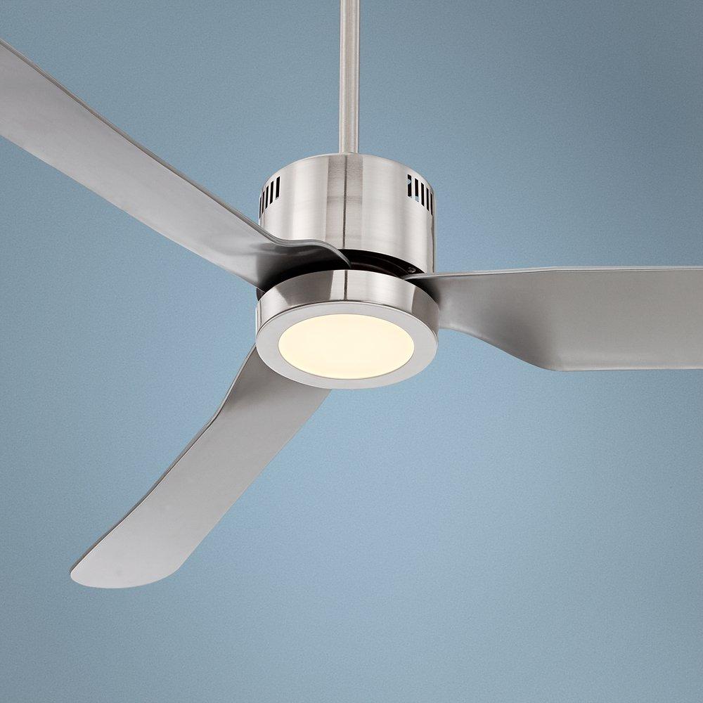52 visionary brushed nickel led ceiling fan amazon aloadofball Choice Image