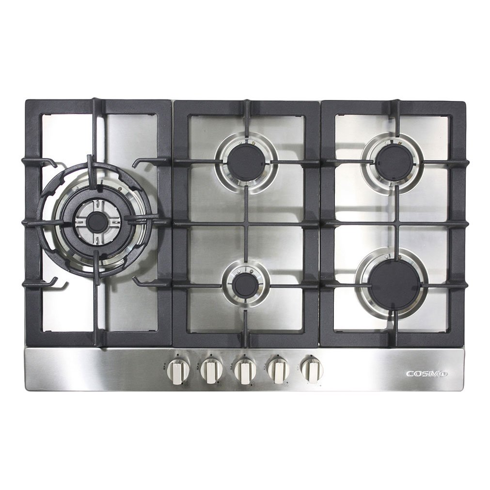Cosmo 950SLTX-E 34'' Gas Cooktop with 5 Burners , Stainless Steel by Cosmo