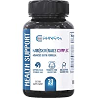 Clinical Effects: Hair, Skin and Nails Complex - Dietary Supplement with Advanced...