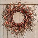 Heart of America Country Bittersweet Wreath 22''