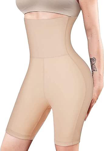 Irisnaya Waist Trainer for Women Tummy Control Panty Shapewear Butt Lifter High Waist Body Shaper Shorts Thigh Slimmer Girdle