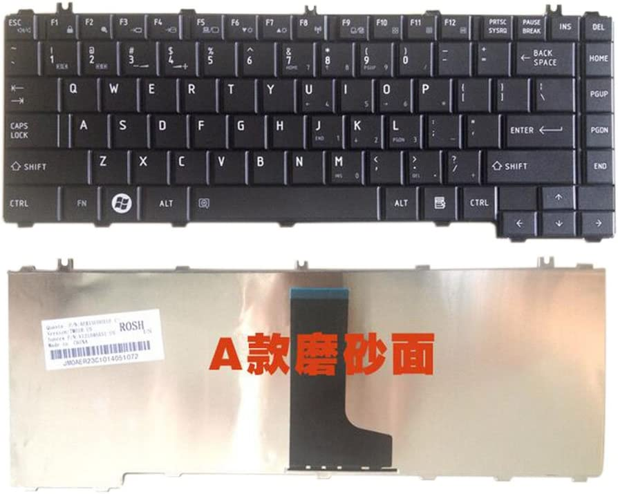 Meijunter Replacement Laptop Keyboard for Toshiba Satellite L600 L600D L630 C640 L745D
