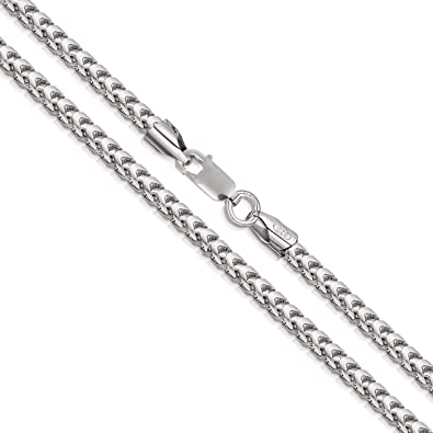 Best Birthday Gift Sterling Silver 4.5mm Cable Chain