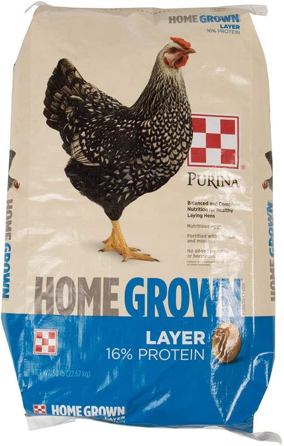 Purina Animal Nutrition Home Grown Layer Pellets 50