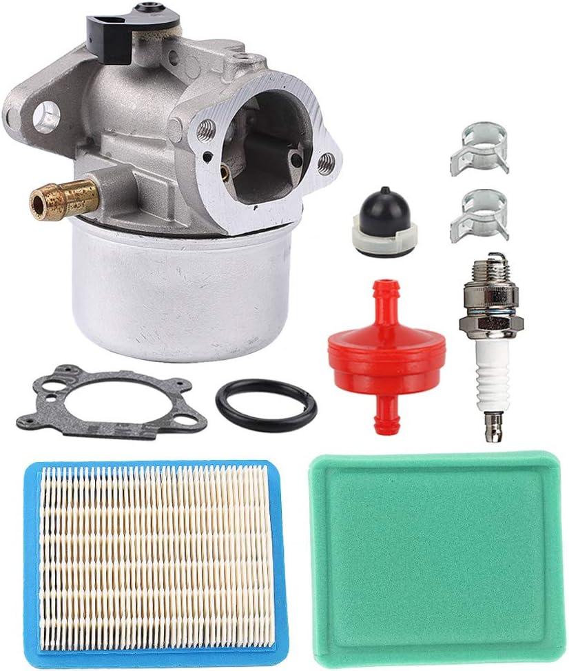 amazon.com : milttor 799868 carburetor 694395 primer bulb fit ... brigg stratton lawn mower carburetor diagram 498170  amazon.com