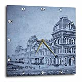 Cheap 3dRose dpp_16130_1 Grand Central Railroad Depot Vintage 1890 4-Wall Clock, 10 by 10-Inch
