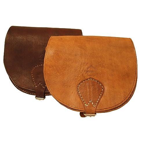 Handmade Large Ladies Saddle Bag (Dark Brown)  Amazon.co.uk  Shoes ... 3f5938a31bd2c
