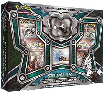 Pokémon TCG: caja de colección figura brillante silvally: Amazon.es: Juguetes y juegos