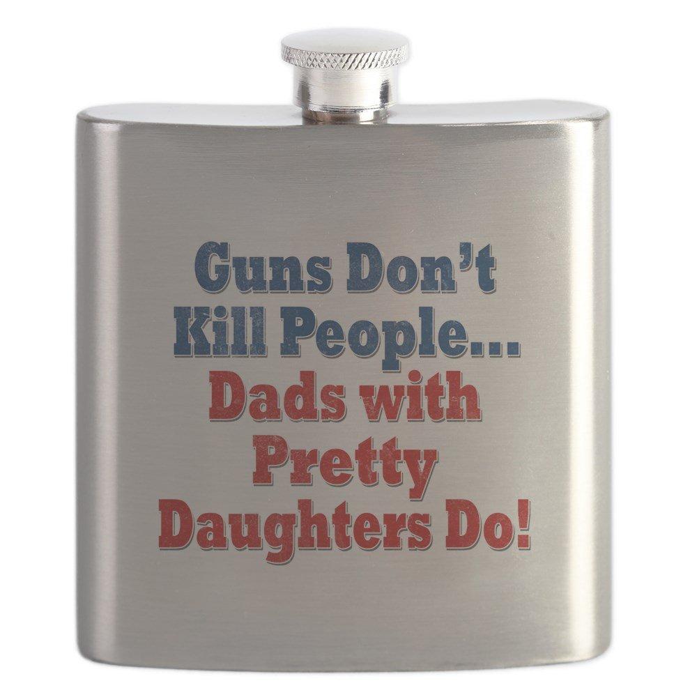 現品限り一斉値下げ! CafePress CafePress – Dads With With Pretty Dads Daughters面白い父の日 – ステンレススチールフラスコ、6オンスDrinkingフラスコ B01IUK4GCY, Crave-Love:851ce97b --- domaska.lt