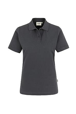 "2f4744e3bdd975 HAKRO Damen Polo-Shirt ""Top"" 224 - anthrazit ..."