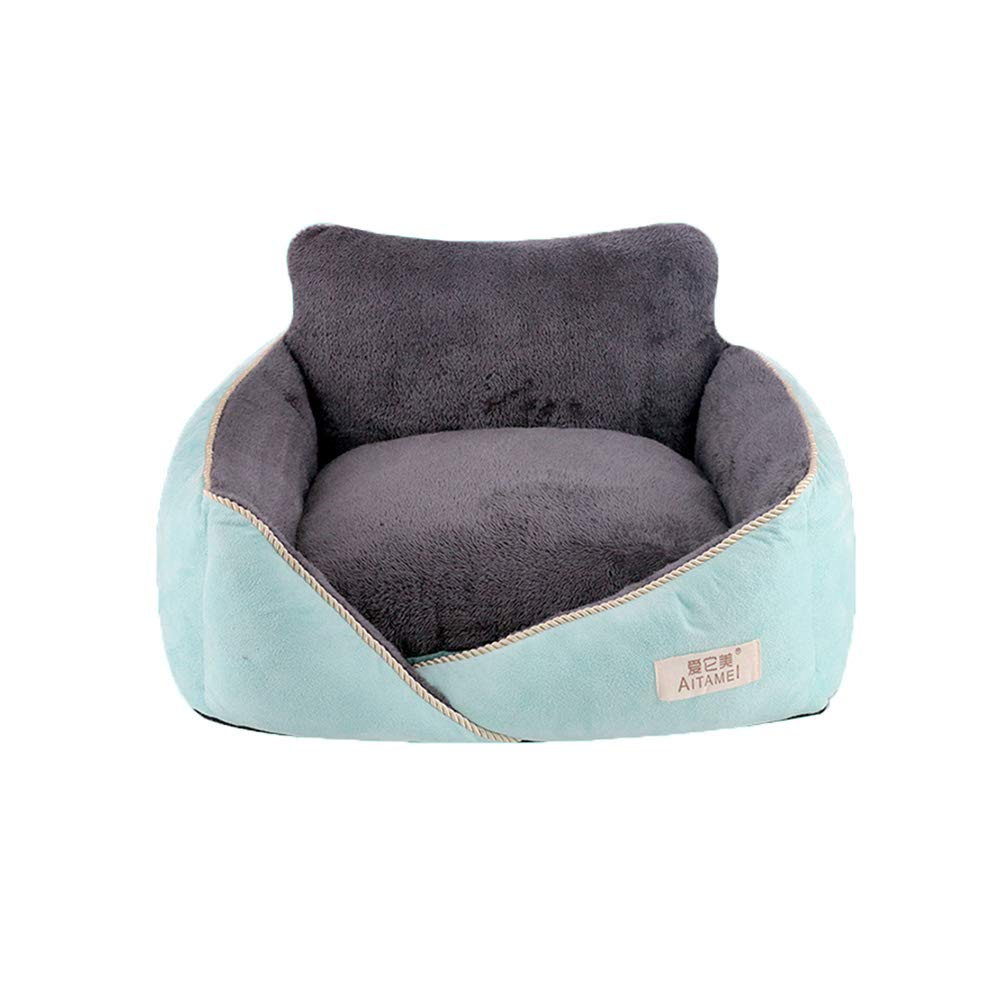 bluee XX-Large bluee XX-Large YQQ Pet Sleeping Bag Pet Sofa Cat Nest Kennel Dog Bed Washable Pet Supplies (color   bluee, Size   XXL)