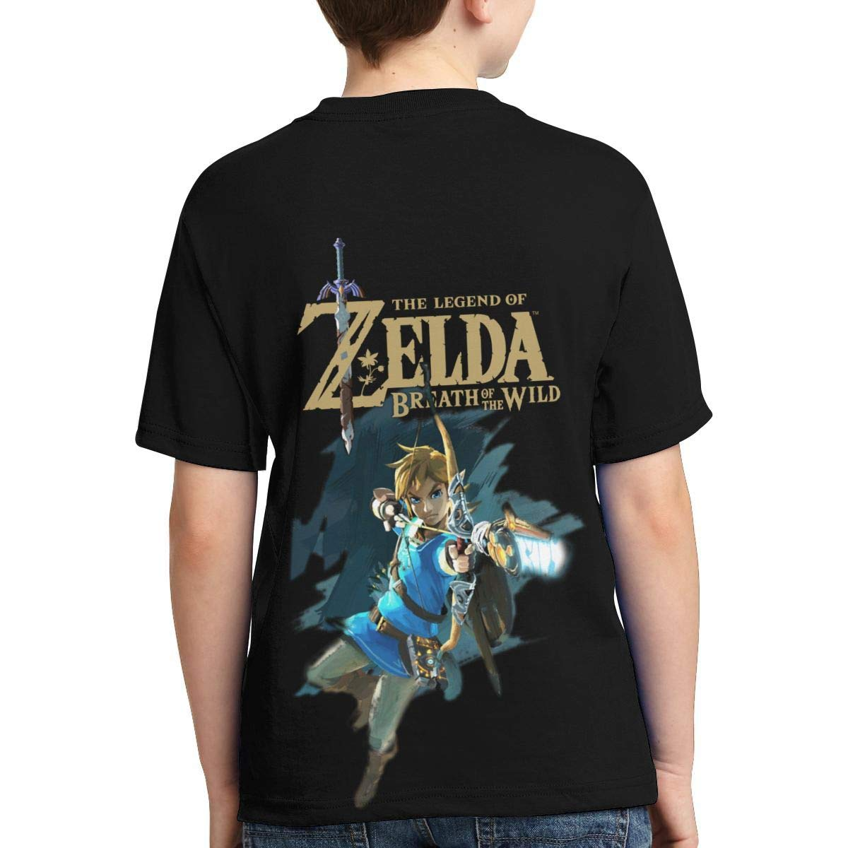 Hatstng The Legend of Zelda Boys Girls 3D Print Crew Tee Youth Short Sleeve T-Shirt Tanks Tops