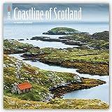 Coastline of Scotland 2018 12 x 12 Inch Monthly Square Wall Calendar, UK United Kingdom Ocean Sea Scenic Nature