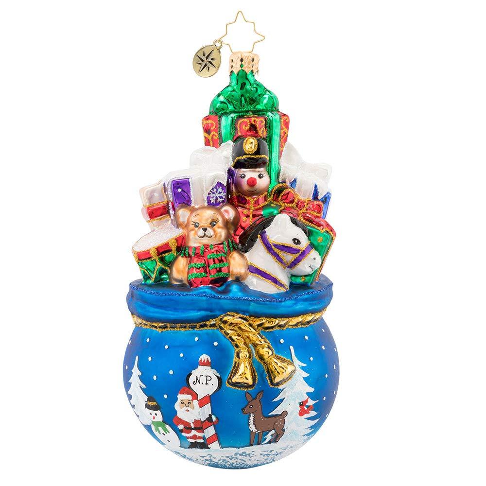 Christopher Radko A Bag of Delights Christmas Ornament