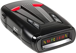 Whistler 4500ES High Performance Laser Radar Detector: 360 Degree Protection and Tone Alerts