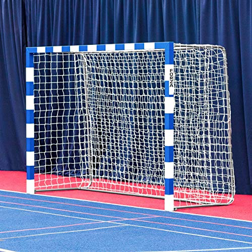 Forza Alu80 Competition Handball Goals | IHF Regulation Size 3m x 2m Handball Goal [Net World Sports] (Pair, Blue) by Forza (Image #9)