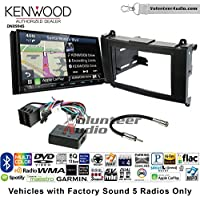 Volunteer Audio Kenwood Excelon DNX994S Double Din Radio Install Kit with GPS Navigation Apple CarPlay Android Auto Fits 2007-2009 Dodge Sprinter 2010-2012 Mercedes-Benz Sprinter