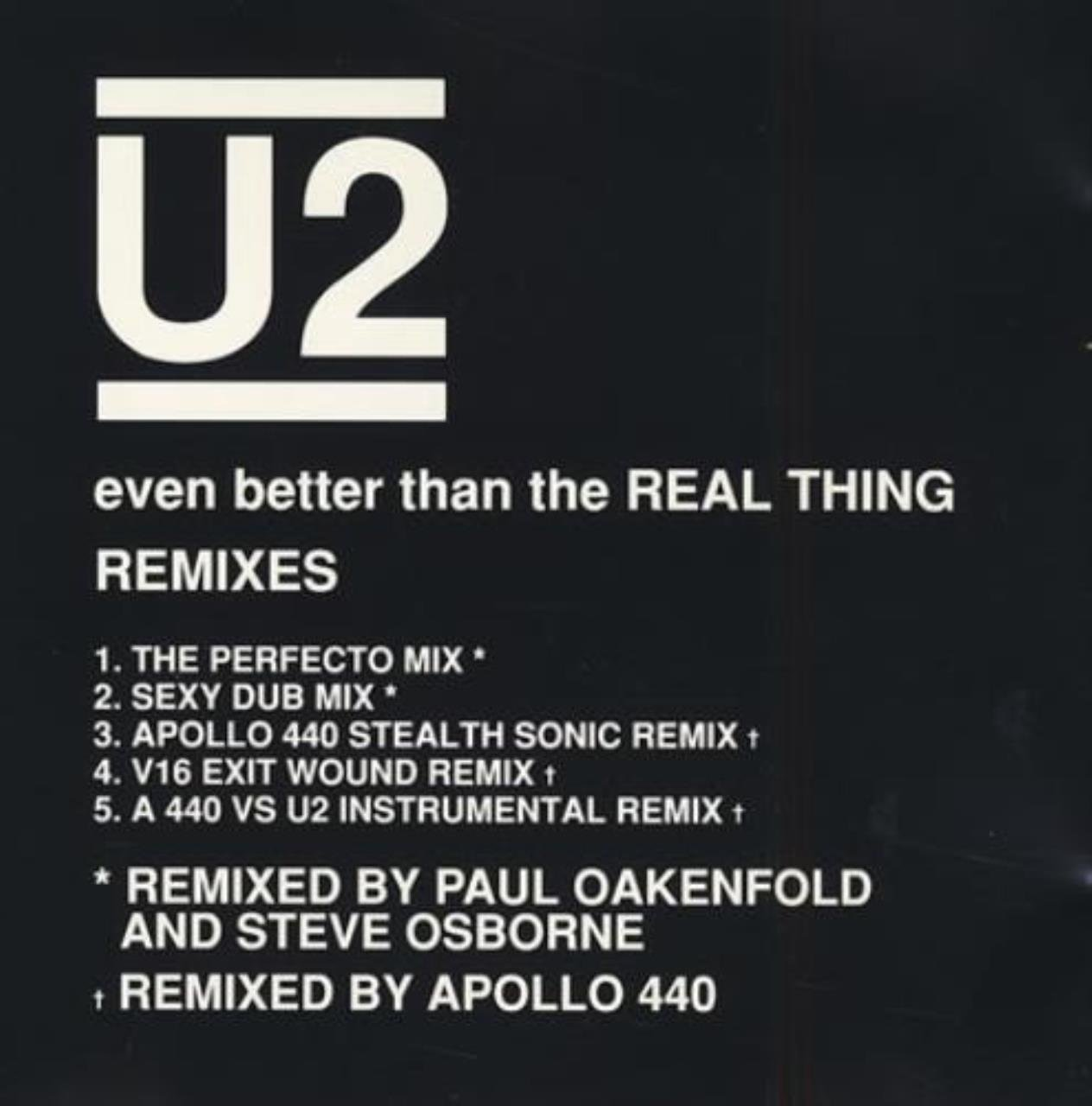 Even Better Than The Real Thing: Remixes by Island Records