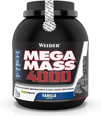 Weider Mega Mass 4000 Vainilla - 3000 gr