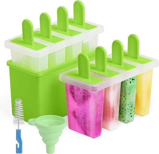 Amazon.com: Kootek - Juego de 8 moldes para helado casero ...