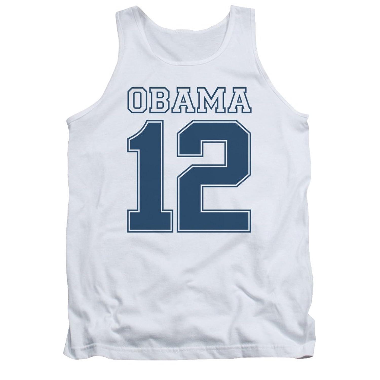 Barack Obama 2012 Political Adult Tank Top Shirt