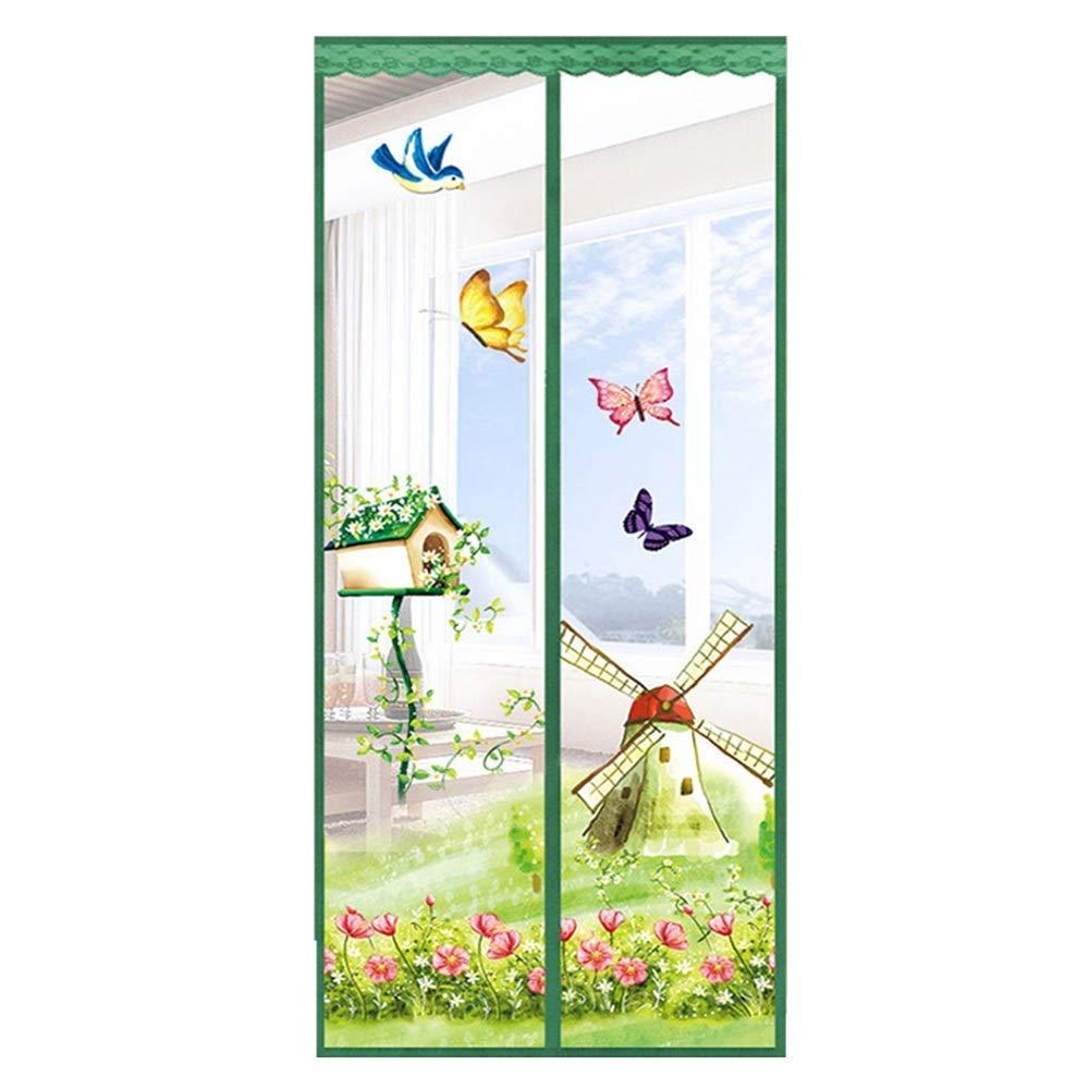 CH-Magnetic Curtain Puerta de la Pantalla Magnética, una Puerta ...