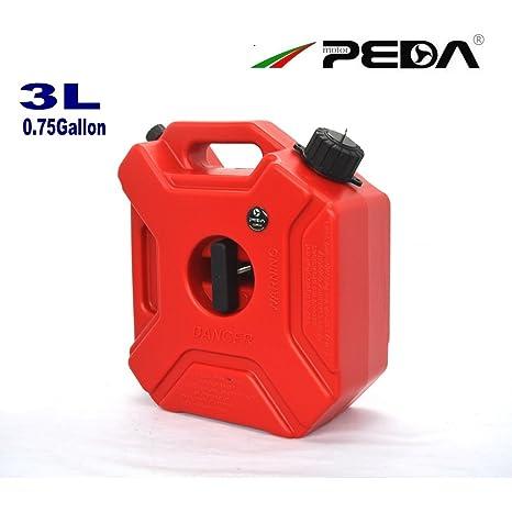 Amazon.com: Peda 3L Depósito de combustible gasolina tanques ...
