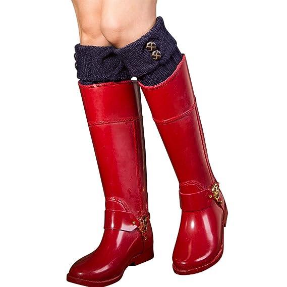 ishine calcetines de tubo calcetines mujer divertidos calcetines ciclismo con 7 colores