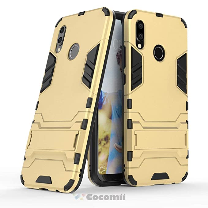 Robusto Cocomii Iron Man Armor Huawei P20 Lite//Nova 3E Funda Nuevo I.Black Superior T/áctico Sujeci/ón Soporte Antichoque Caja Cuerpo Completo Case Carcasa for Huawei P20 Lite Militar Defensor