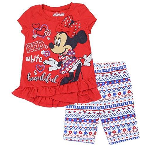 Minnie Mouse Shirt and Shorts Set for Toddler Girls