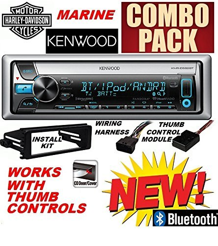 96-2013 Marine Harley Touring Cd Stereo Radio Install Adapter Dash Kit Flht Flhx Flhtc Kenwood Cleveland Indians Hitch Cover