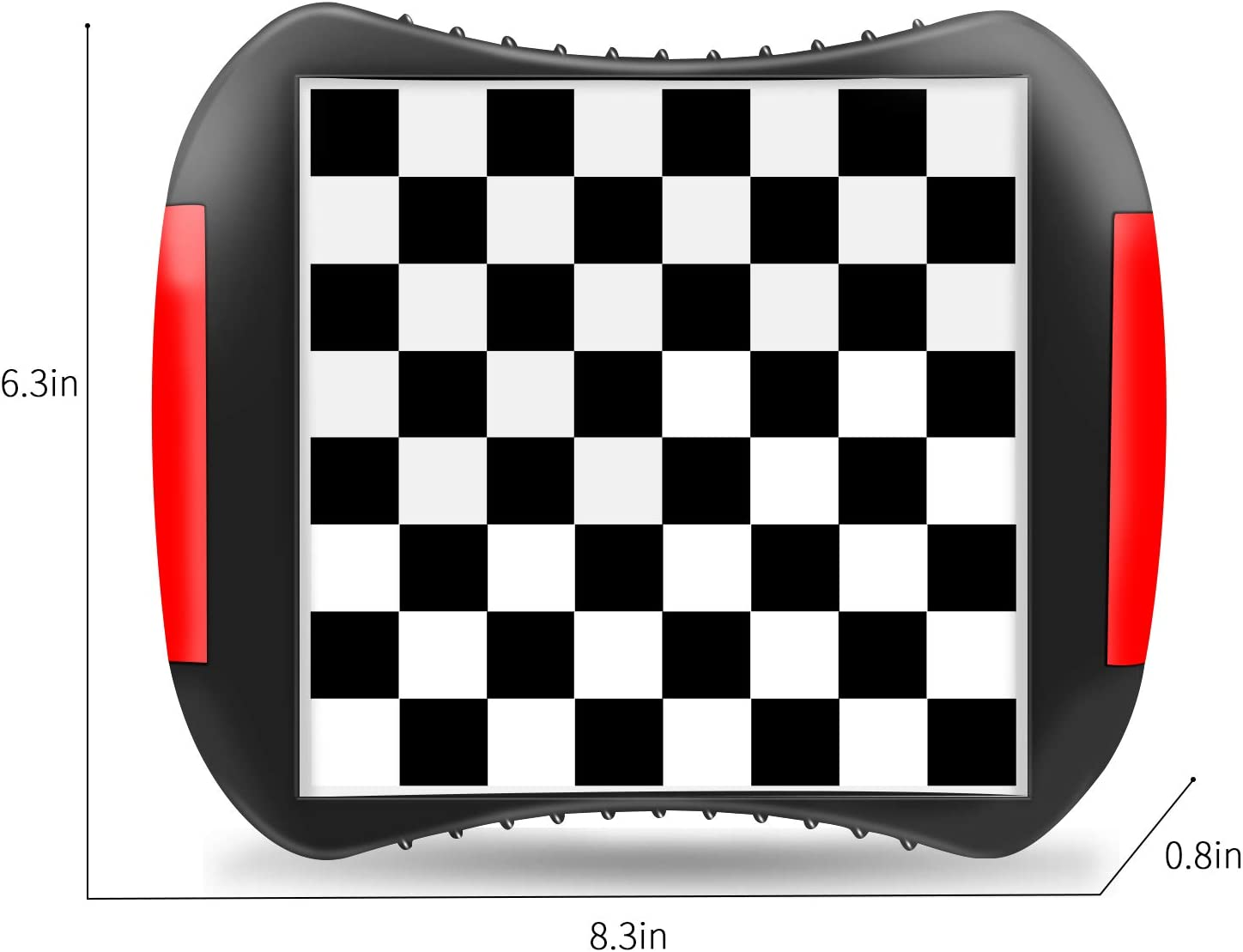 Magnetic Travel Chess Board Game Set with Storage for Kids Adults Gift