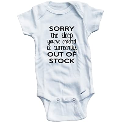 Baby Tee Time Girls' Sorry The Sleep You've Ordered One piece