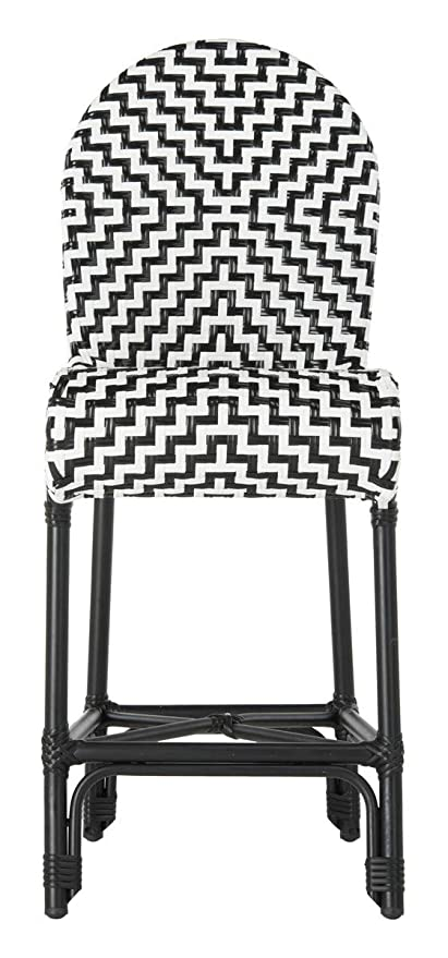 Astounding Amazon Com Safavieh Pat4020A Collection Shea Black And Ibusinesslaw Wood Chair Design Ideas Ibusinesslaworg
