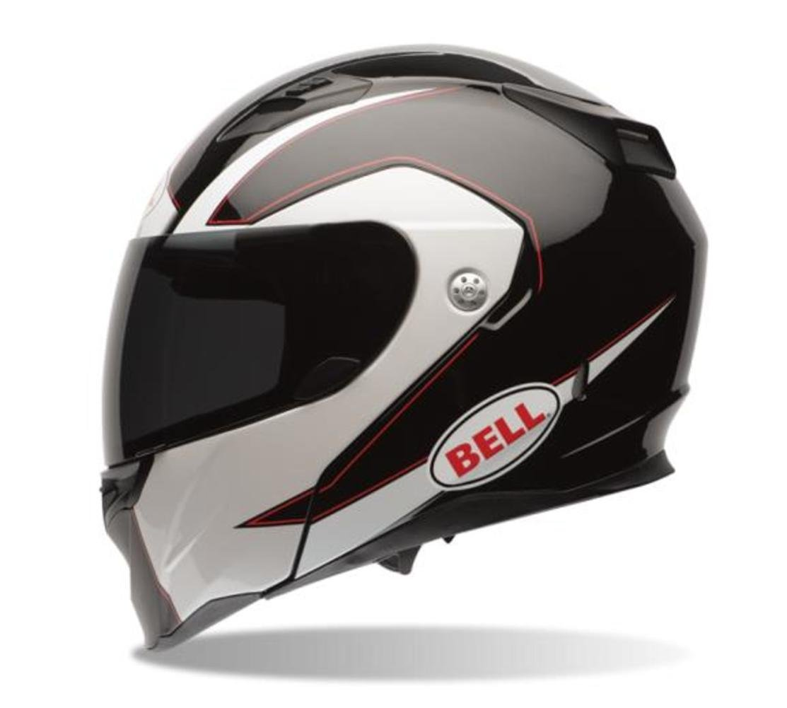 Amazon.com: Bell Revolver Evo Modular Motorcycle Helmet (Ghost Black, Medium) (Non-Current Graphic): Automotive