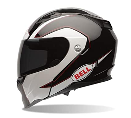 Bell Revolver Evo Modular Motorcycle Helmet (Ghost Black, Medium) (Non-Current