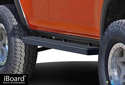 Amazon Com Aps Iboard Running Boards 5 Matte Black Custom Fit 2010