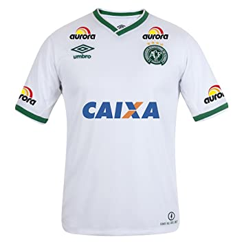 723a07a77ff Super Popular Chapecoense AF Name And Number DIY Away Football Soccer Jersey  Sportwear Suit In White: Amazon.co.uk: Sports & Outdoors