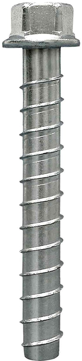 Simpson Strong Tie THDB62600HMG Titen HD Heavy Duty Screw Anchor Mechanically Galvanized 5/8'' by 6''- 10 per Box